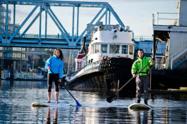 Victoria Harbour Stand Up Paddling (SUP) Tour