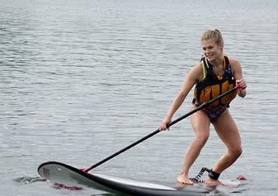 Basic Stand Up Paddleboard (SUP) Skills at Elk Lake