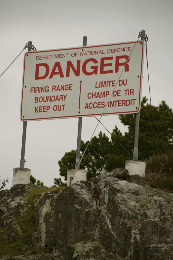 Bentink Island Warning