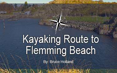 Ocean River Sports to Flemming Beach Kayaking Route