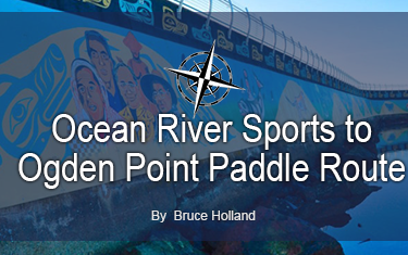 Ocean River Sports to Ogden Point Paddle Route