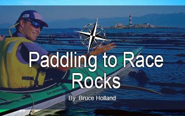 Kayaking to Race Rocks Lighthouse