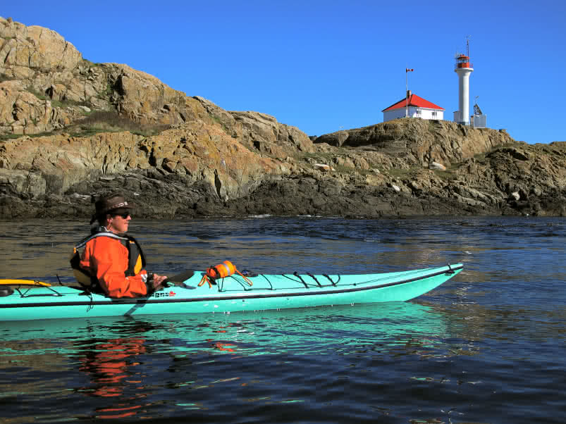 MacNeill Bay to the Trial Islands Paddle Route
