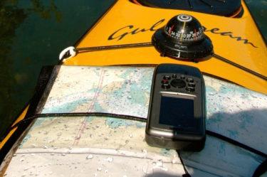 GPS on Kayak