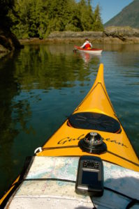Kayaking with GPS