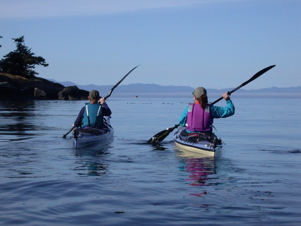 Whiffen Spit to Cabin Point, East Sooke Park, Paddle Route