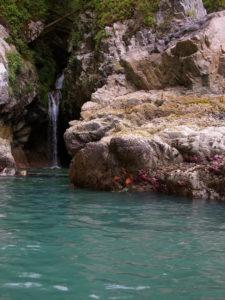Waterfall near Benson Pt