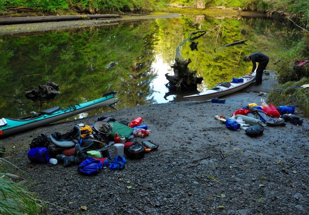 kayaking gear