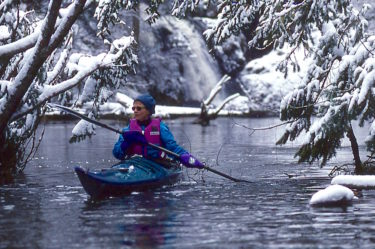 Paddling With Warm Hands