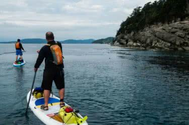 Circumnavigating Saturna Island by Paddle Board
