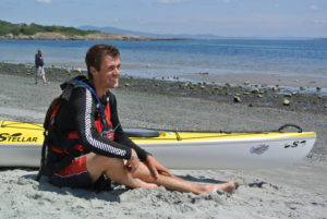 Russell Henry Kayaker