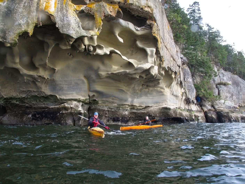 Kayaking Gabriola
