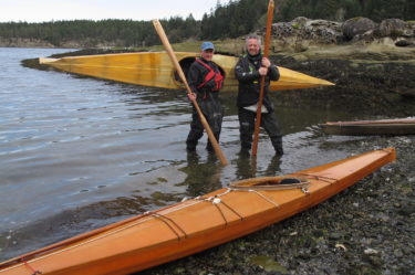 Paddling Traditional Skin on Frame Kayaks with 'Made Kayaks'