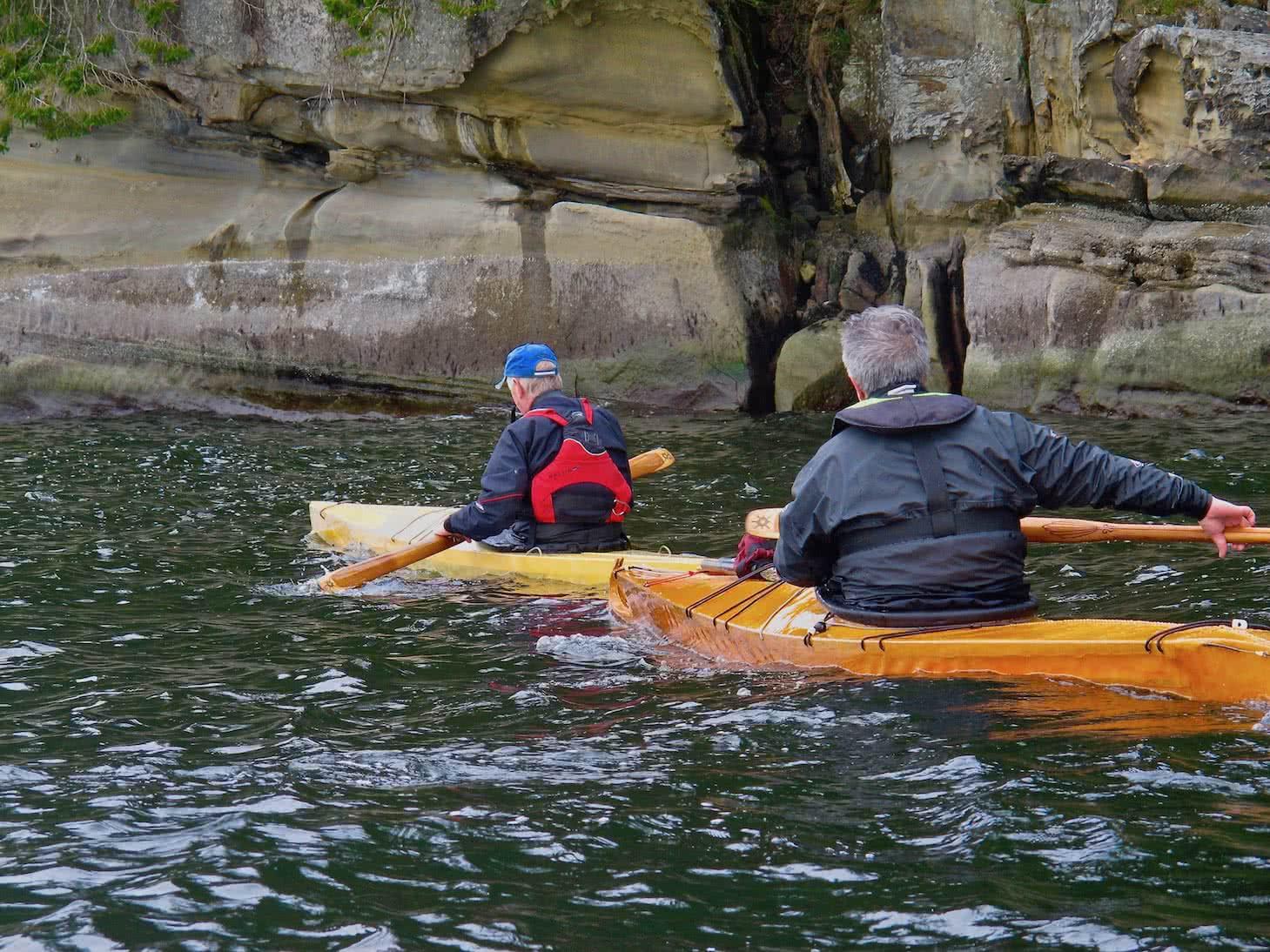 tradional kayaks gabriola island
