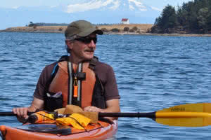 Bob Bruce Saturna Island Kayak Guide