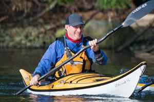 Bruce Holland kayak guide