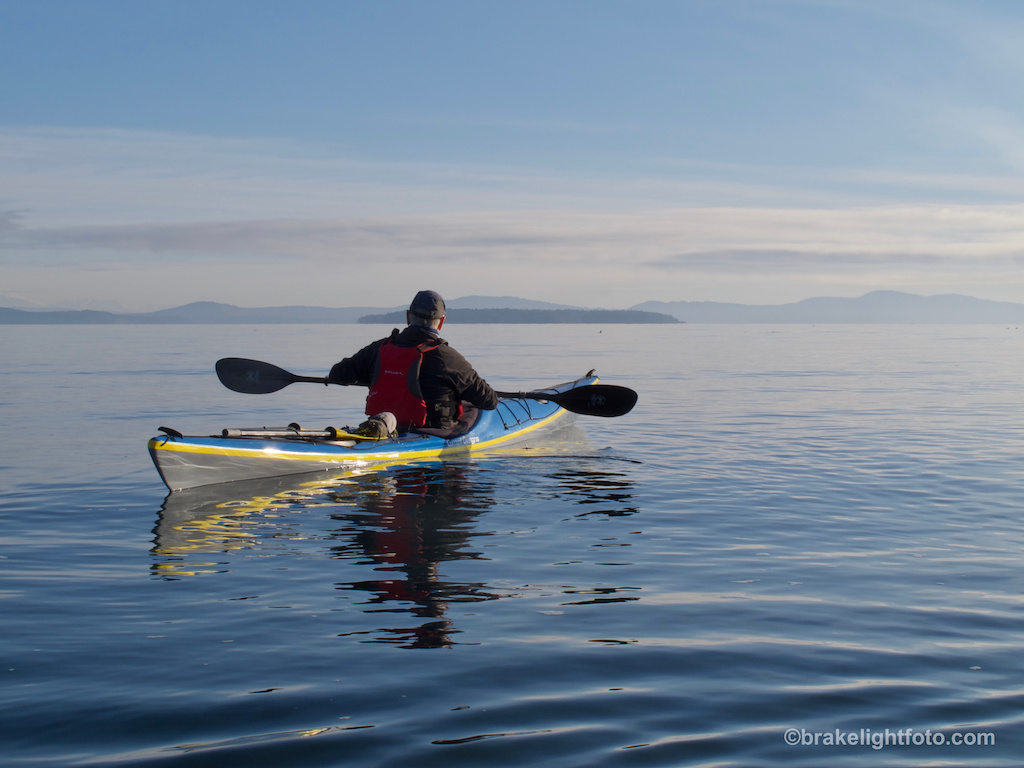 Kayaking to D'Arcy Island