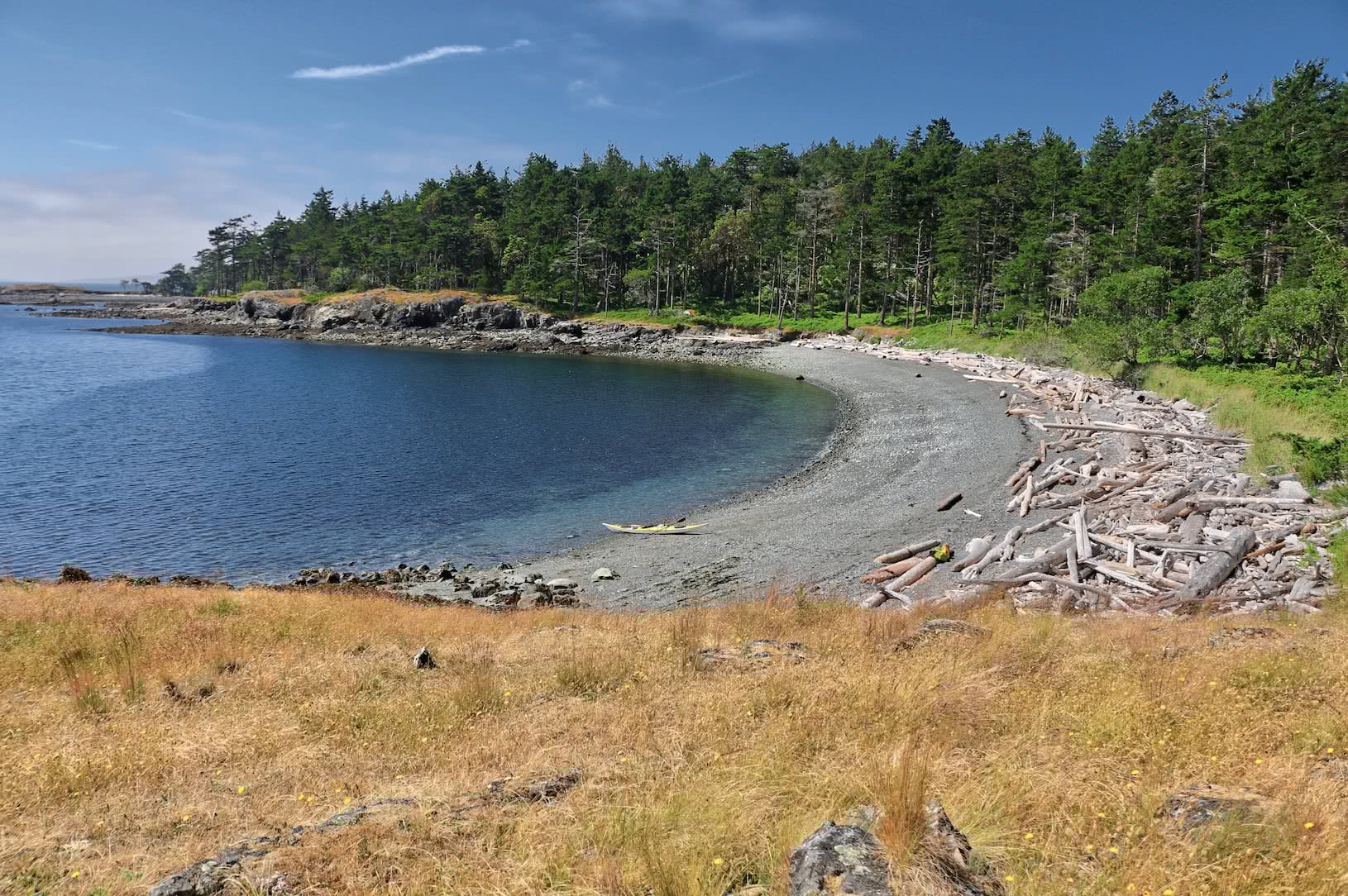 Beach at the GINPR Campground