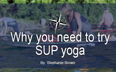 Why you need to try SUP yoga