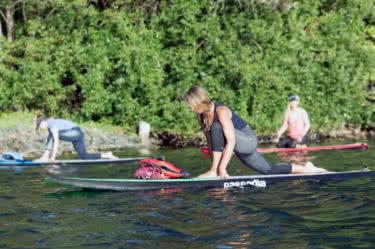 SUP Yoga classes Victoria BC