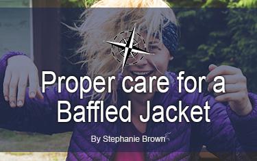 Proper care for a Baffled Jacket
