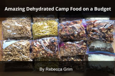 dehydrated camp food tips