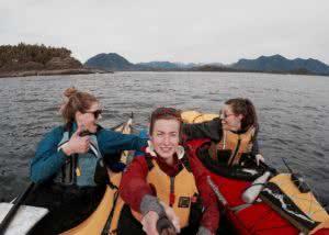 multi day group kayak trips