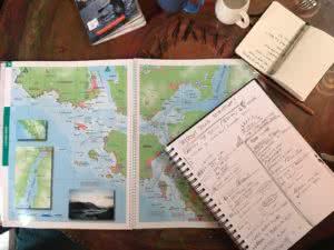 kayak trip planning