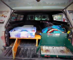 living out of a vehicle