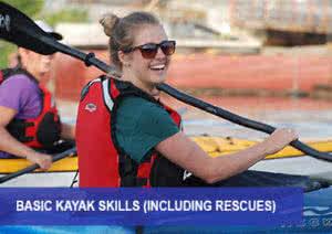 basic kayaking skills image