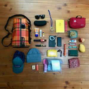kayaking lap bag packing list