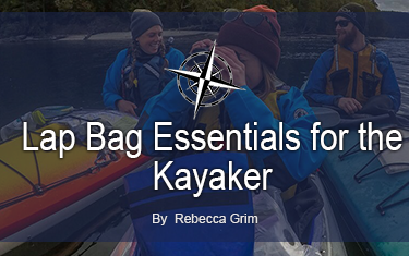 Kayak Lap Bag Essentials