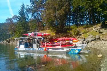 Cabbage-Tumbo Islands Kayak Adventure