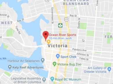 Location Ocean River Sports