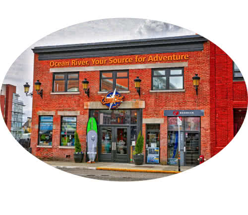 Photo of Ocean River Sports storefront at 1630 Store St in Victoria BC