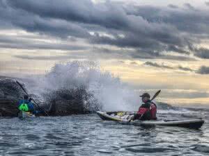 Gordon Brown rough water kayak course