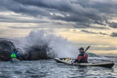 Rough Water Sea Kayaking – A GREAT CHALLENGE