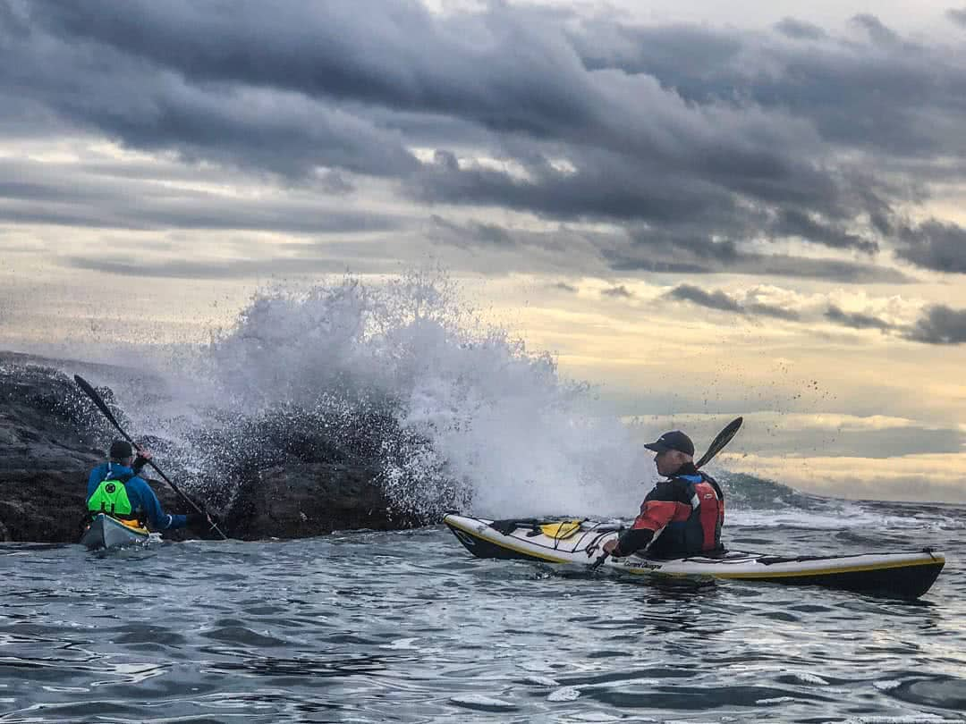 Rough Water Sea Kayaking - A GREAT CHALLENGE