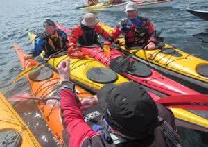 Sea Kayak with Gordon Brown @ Sooke - Whiffin Spit