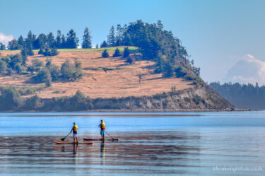 A Paddling Circumnavigation of James Island