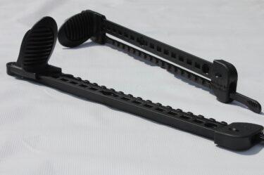 Wilderness Systems Sliding Rudder Footrest System with Rudder Cables